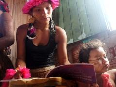 Mulheres indígenas celebram 18 meses de atividades em rede